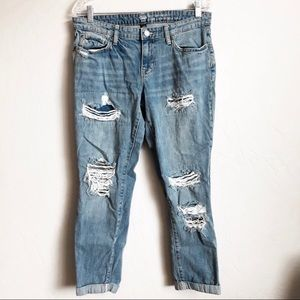 "Gap Distressed ""Sexy Boyfriend"" Jeans"